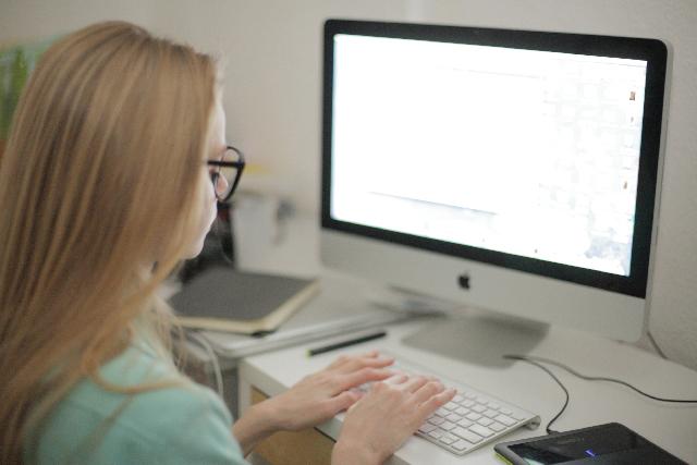 障がい者パソコン初心者指導のイメージ